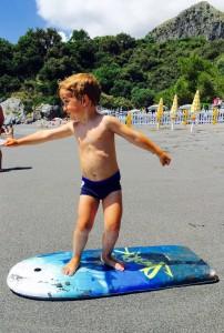 Checco fa surf